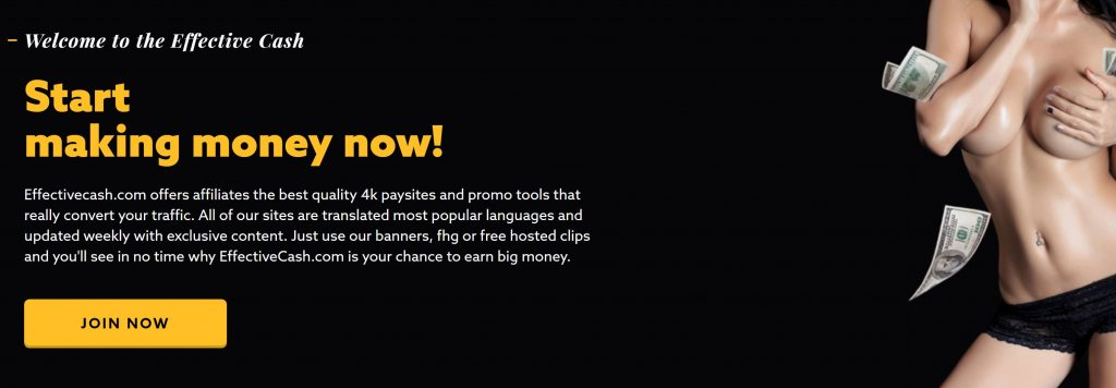 Effective Cash 4K Sponsor Affiliate Program